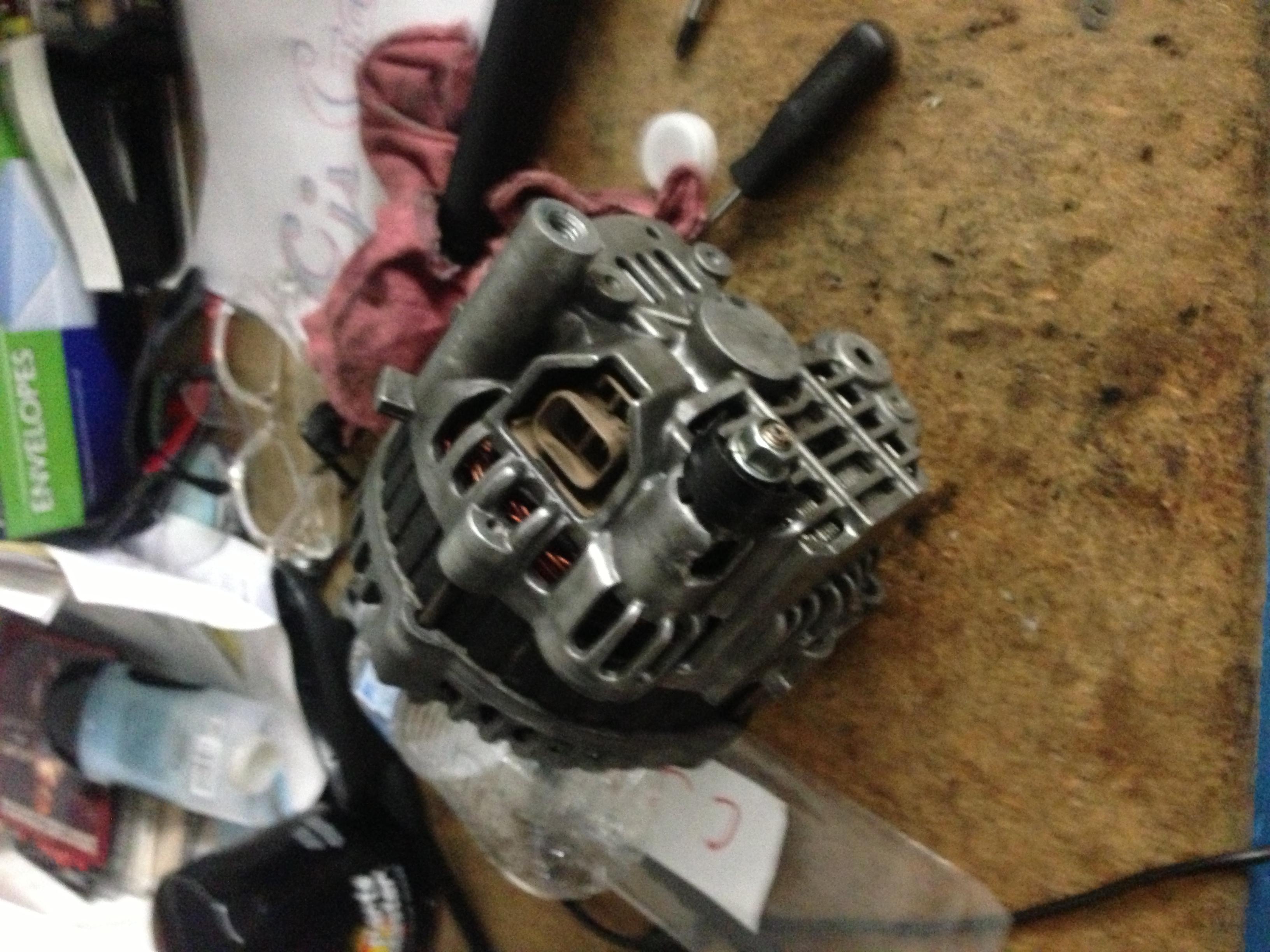 Failed 2004 Gto Alternator U2013 Under The Hood Ls1 Wiring